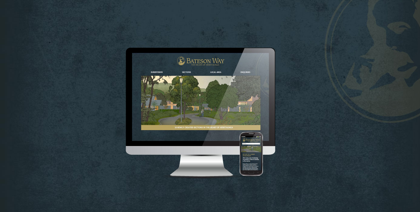 Bateson way website across devices